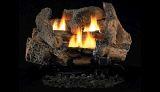 """18"""" Golden Oak Vent Free Gas Log Set w/VD1824 Manual Burner - NG"""