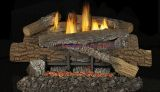 """24"""" Boulder Mountain VF Gas Log Set w/BGE2436 T-Stat Burner - NG"""