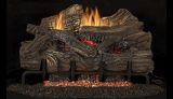 """24"""" Smokey Mountain VF Gas Log Set w/BGE2436 T-Stat Burner - NG"""
