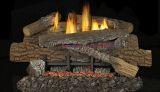 """30"""" Boulder Mountain VF Gas Log Set w/BGE2436 Variable Burner - NG"""