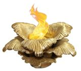 Anywhere Fireplace Indoor/Outdoor Botanical Fireplace - Chatsworth (Gold)