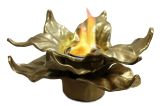 Anywhere Fireplace Indoor/Outdoor Botanical Fireplace - Heathcote (Gold)