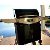 Original Smoke-N-Hot Pellet Grill Pro. -Stainless Steel