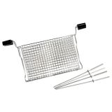 Ronco RG2002DRM Ready Grill All Purpose Basket w/Kabobs