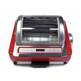 Ronco ST5250RDGEN Digital Showtime Rotisserie and BBQ Oven, Red