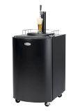 Nostalgia KRS2100 Full Size Kegorator Draft Beer Dispenser, Black