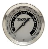 Bayou Classic Cypress Grill Tempered Glass & Stainless Thermometer