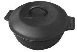 4qt. Cast Iron Pot w/ basting lid