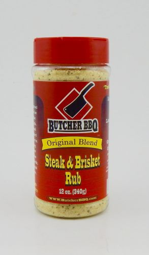 Butcher BBQ 12oz Steak And Brisket Rub