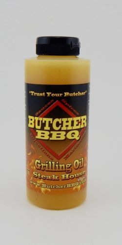 Butcher BBQ 12oz Steakhouse Flavor Grilling Oils