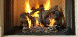 "3 Tier 30"" Fireside Grand Oak Gas Log Set w/IPI Hearth Kit - NG"