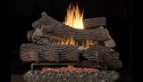"MNF24 VF 24"" LP Ember Bed Millivolt Burner w/ 24"" Giant Timber Logs"