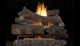 """MNF30 VF 30"""" LP Ember Bed Electric Burner w/ 36"""" Giant Timber Logs"""