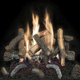 "18"" Cascade Char Stack Logs w/Convertible Safety Pilot Burner - LP"