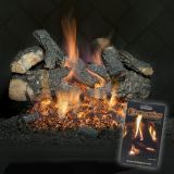 Embaglow Embers for Vented Gas Logs and Outdoor Fire Pits Only