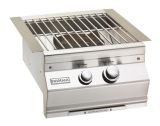 Aurora Style Power Burner with Stainless Steel Grid - LP