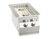 Aurora Style Slide-In Double Side Burner - NG