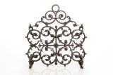 Artisan Cast Iron 1-Panel Classic Screen with Arch- Bronze