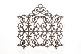 Artisan Cast Iron 2-Panel Classic Screen with Arch- Bronze