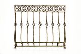 Artisan Cast Iron Tuscany Screen with Mesh- Bronze Finish