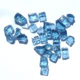 "Tretco 1494-1 Blue Fire Glass Crystals - 1/4"""