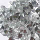 """Tretco 1584-1 Crystal White Reflective Fire Glass Crystals - 1/4"""""""