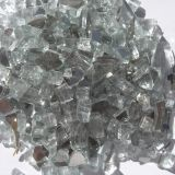 """Tretco 1584-5 Crystal White Reflective Fire Glass Crystals - 1/2"""""""