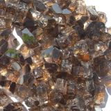 """Tretco 1589-5 Copper Reflective Fire Glass Crystals - 1/2"""""""