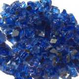 "Tretco 1594-5 Blue Diamond Reflective Arctic Flame Glass - 1/2"""