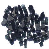 "Tretco 1591-1 Black Reflective Fire Glass Crystals - 1/4"""