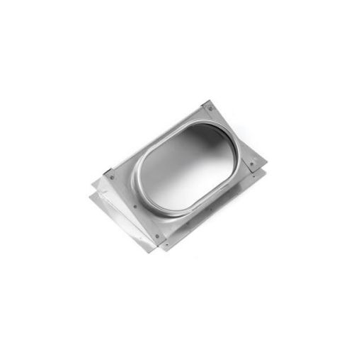 """8"""" DuraVent DuraLiner Oval to Oval 30 Degree Angle Stove Connector"""