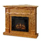 Camden Light Oak Electric Fireplace
