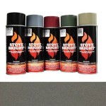 Metallic Brown - 1200 Degree Wood Stove High Temp Paint -