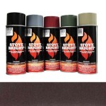 Mahogany - 1200 Degree Wood Stove High Temp Paint -