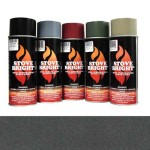 Golden Fire Brown - 1200 Degree Wood Stove High Temp Paint -