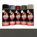 Metallic Rich Brown - 1200 Degree Wood Stove High Temp Paint -
