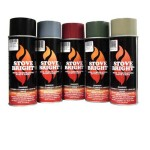 High-Heat Primer - 1200 Degree Wood Stove High Temp Paint -