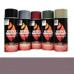 Mauve - 1200 Degree Wood Stove High Temp Paint -
