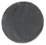 """54"""" Black Round Deck Mat"""