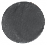 "30"" Black Round Grill Mat"