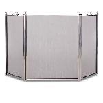 3 Panel Tiburon Screen-Satin Nickel