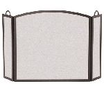 3 Panel Center Arch Screen-Burnished Bronze