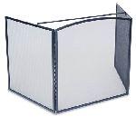 3 Fold Stove Guard Screen-Matte Black