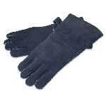 Hearth Gloves-Black Leather