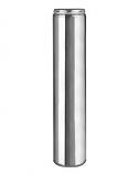 6 Inch x 18 Ultra Chimney Section Stainless Steel - Temp 2100 degree