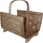 Rectangular Wood Basket