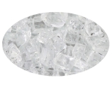 "10 LB Bag of 1/4"" Crystal Ice Fire Glass"