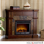 Holly & Martin Cypress Electric Fireplace-Espresso