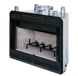 "36"" Bungalow Circulating Wood Burning Fireplace"