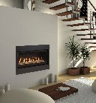 42 Inch Echelon Top Vent Wideview Direct Vent Fireplace Natural Gas
